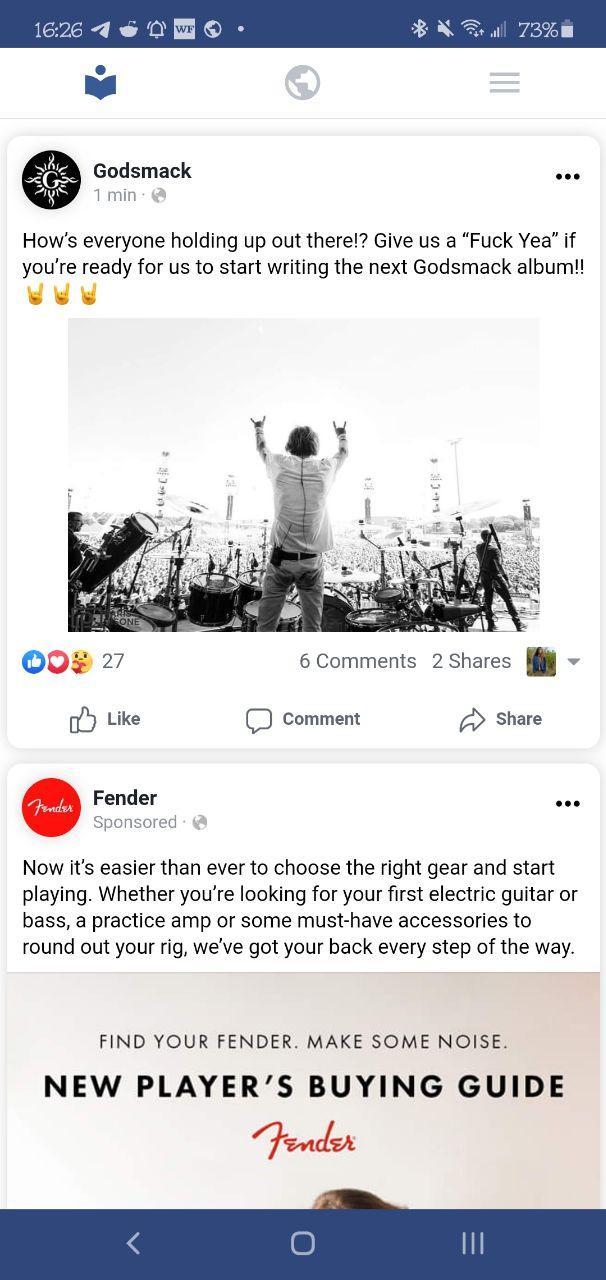 Phoenix for Facebook Screenshot