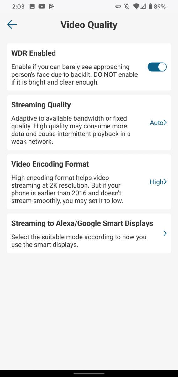 Eufy Video Doorbell video quality
