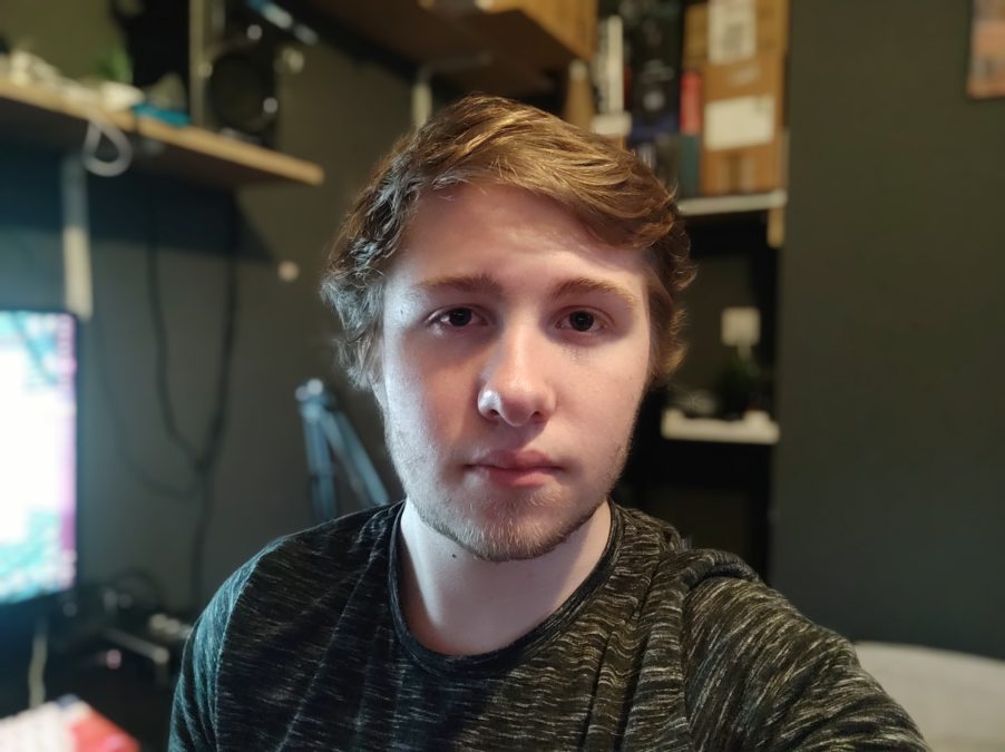 Poco F2 Pro camera test Potrait selfie