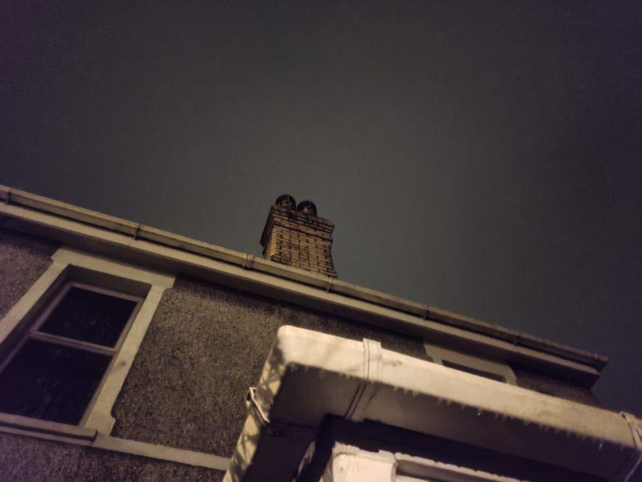 Poco F2 Pro camera test Night test of a chimney