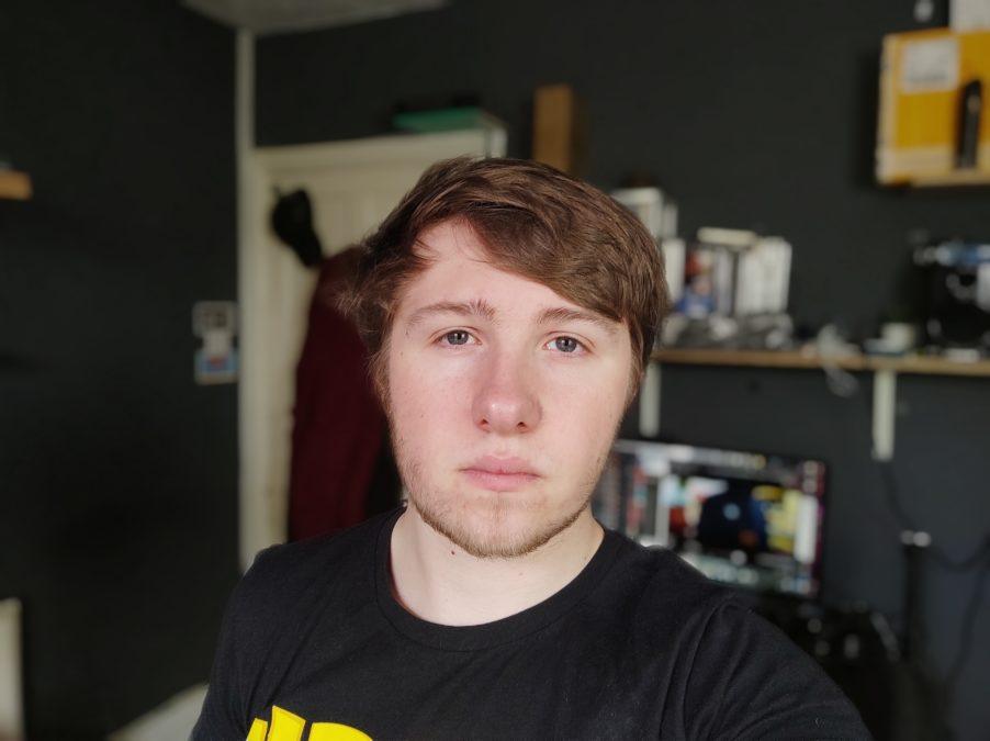 Poco F2 Pro camera test Portrait selfie indoors