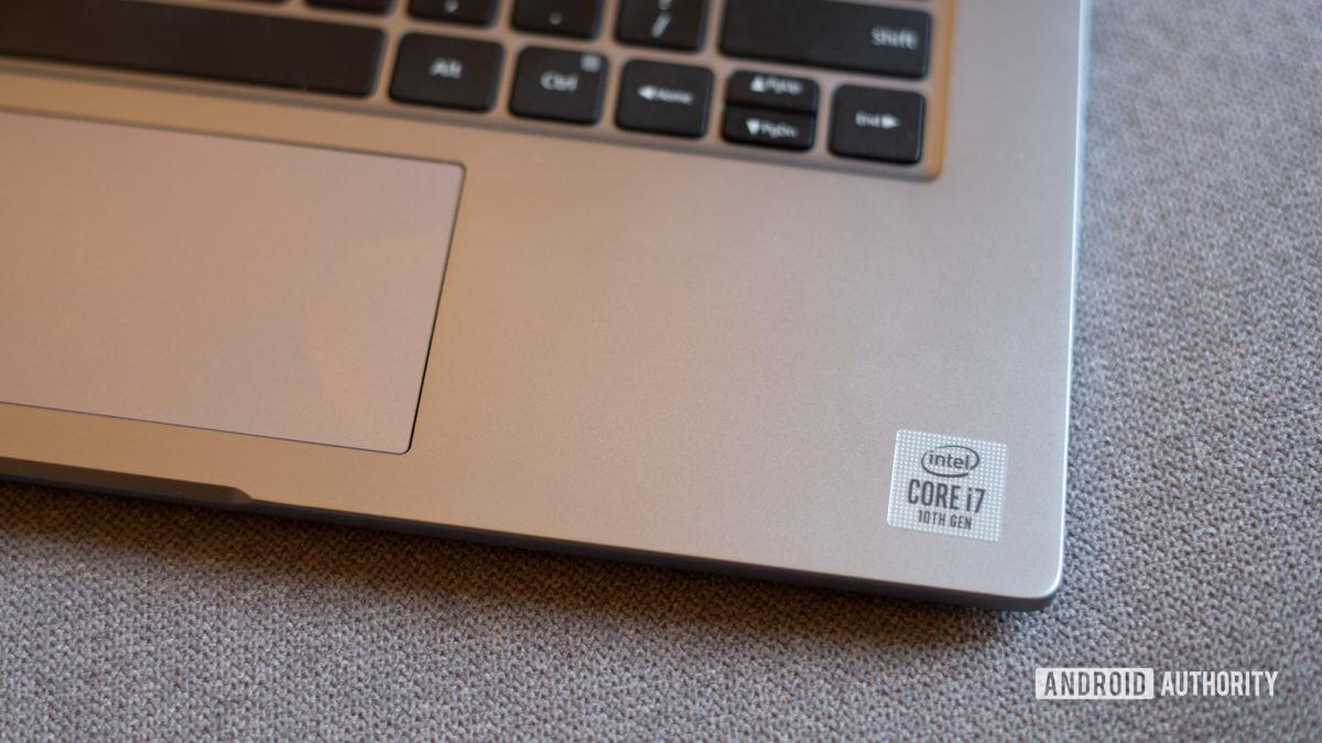 MI Notebook 14 Horizon stickering