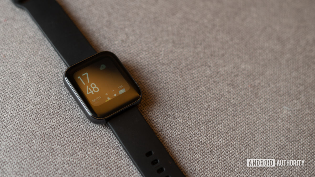Realme Watch front display