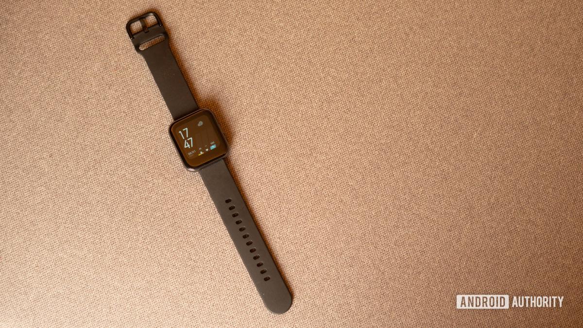 Realme Watch front profile shot