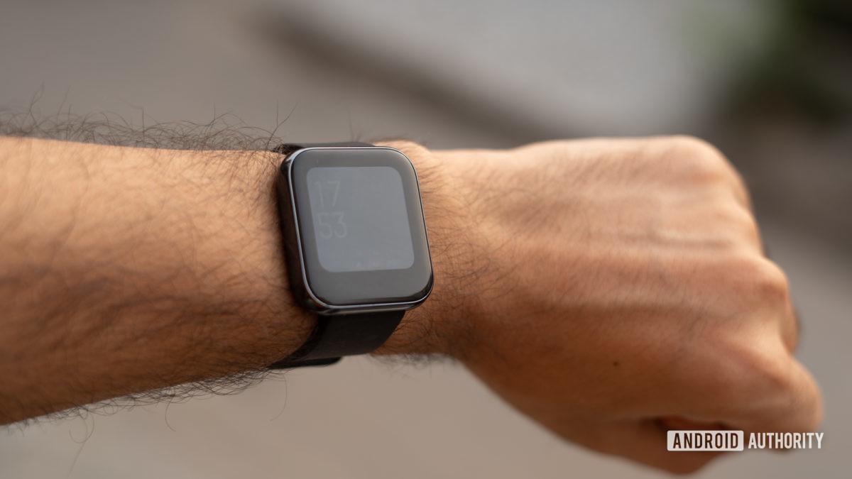 Realme Watch wrist shot