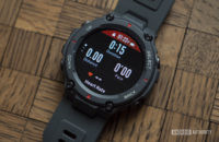 huami amazfit t rex review running stats