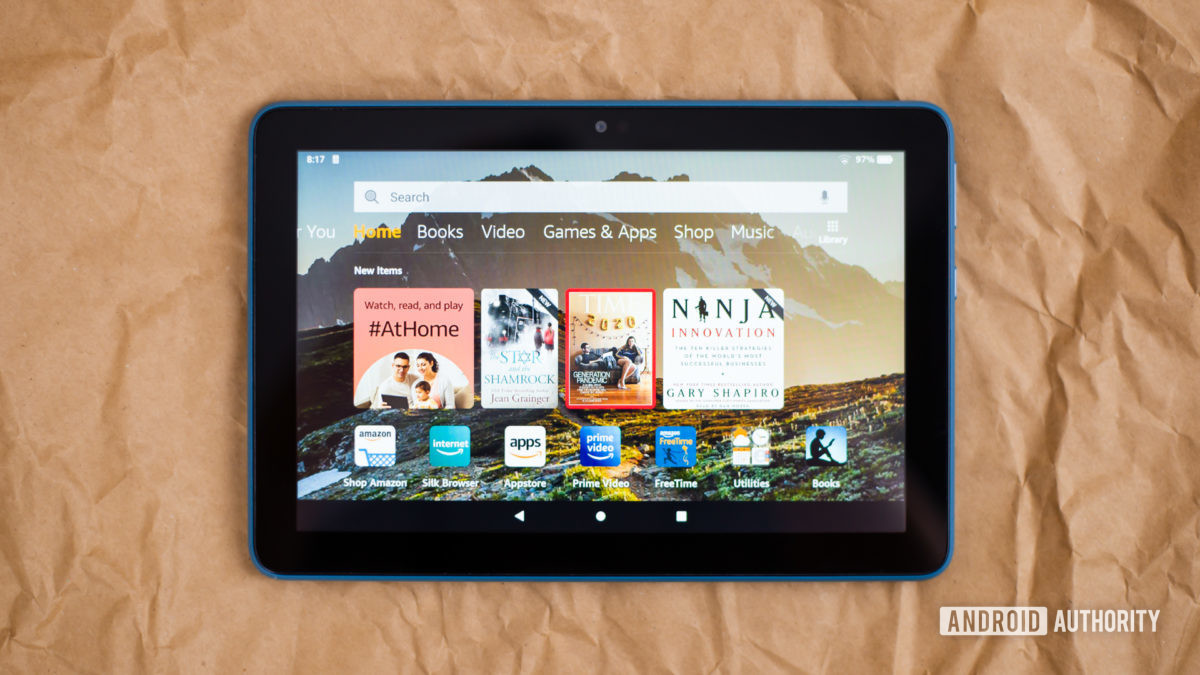 2020 Amazon Fire HD 8 review photos 11
