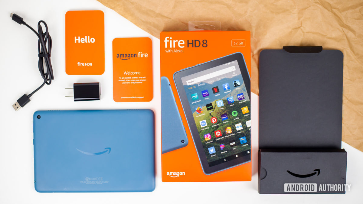 2020 Amazon Fire HD 8 review photos 3