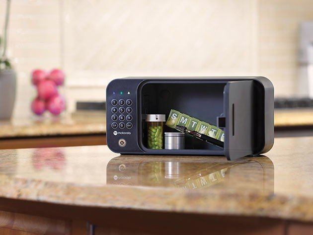 Keep your everyday valuables safe from damage and loss with this award-winning safe