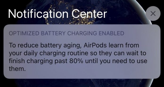 AirPods Gain Optimized Charging to Preserve Battery Health in iOS 14
