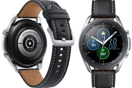 This could be our first, clear look of Samsung's upcoming Galaxy Watch 3
