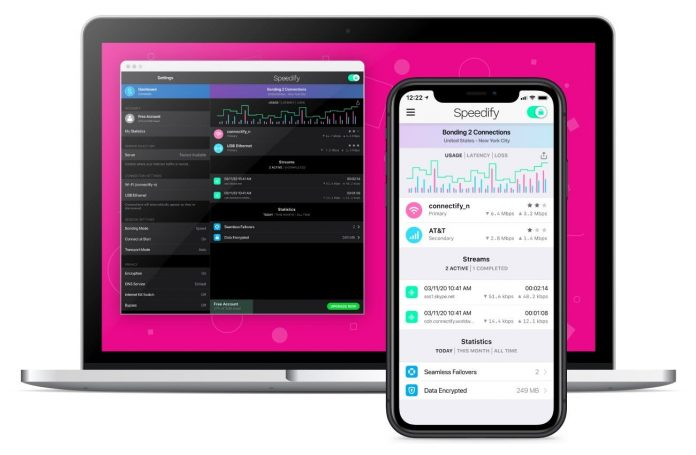 Save big and use all of your internet connections at once with Speedify 10