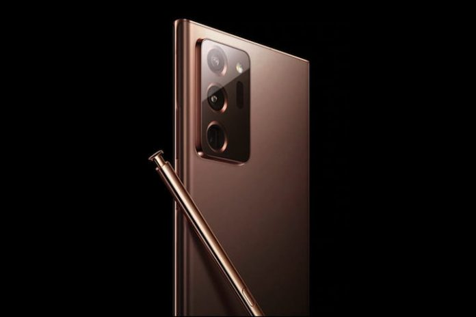 Major leak shows the Galaxy Note 20 in classy Mystic Bronze color