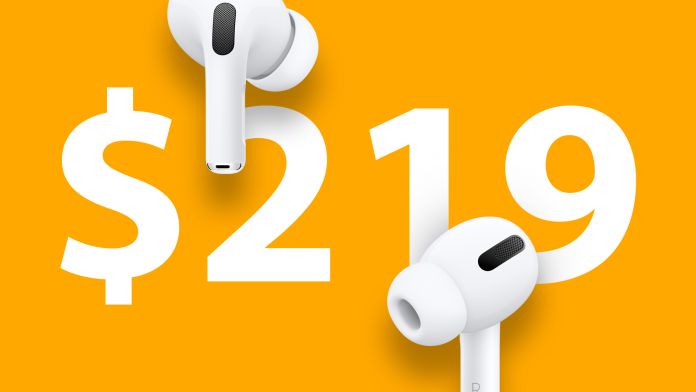 Deals: AirPods Pro Available for $219.99 at Verizon ($30 Off)