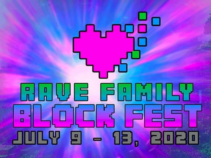 The huge Rave Family Block Fest music festival comes to Minecraft this week