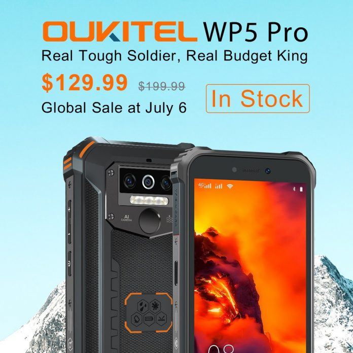 Oukitel WP5 Pro launches globally at $129.99