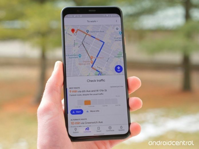 Google Maps could soon start showing traffic lights on Android