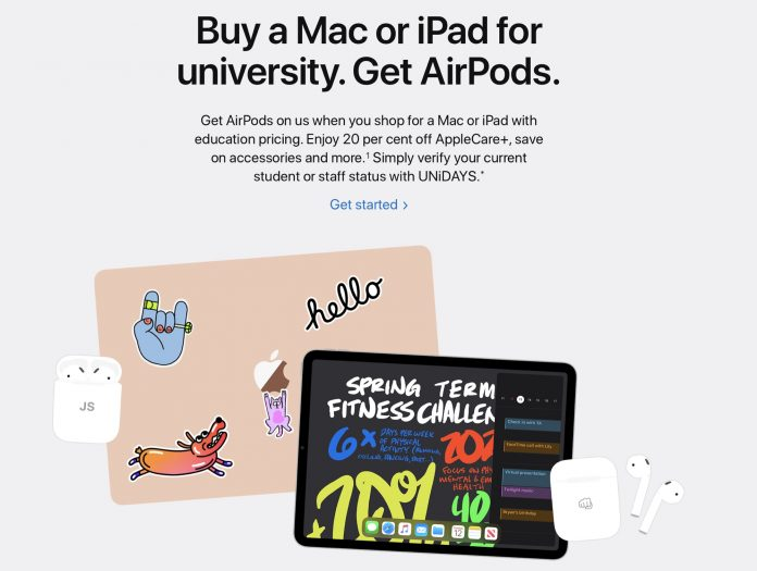 Apple Launches Back to School Promotion in Europe, Asia, Mexico and the Middle East
