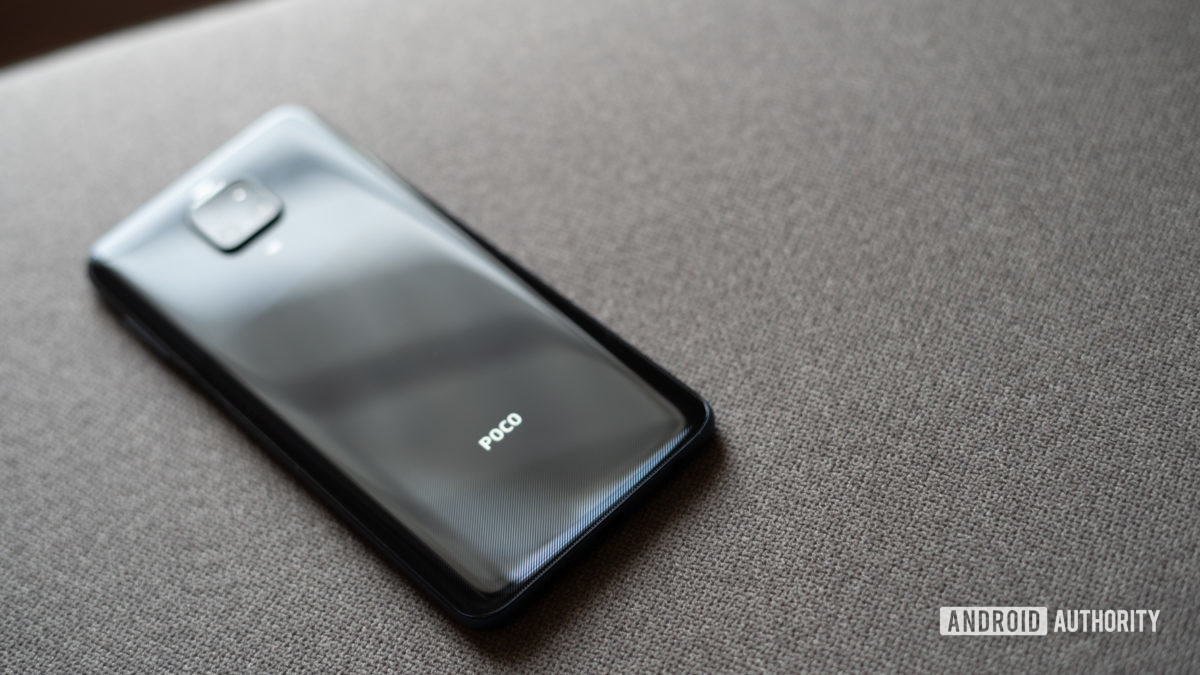 Poco M2 Pro back of the phone