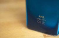 Poco F2 Pro Poco logo at the bottom of the back