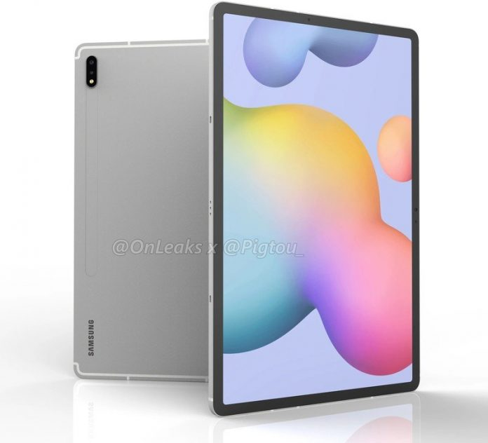 Samsung Galaxy Tab S7+ leak reveals a Snapdragon 865+ SoC, 10090mAh battery