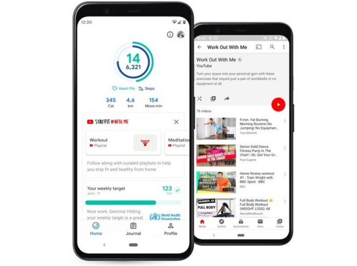 Google Fit adds workout videos from YouTube to encourage you to stay active