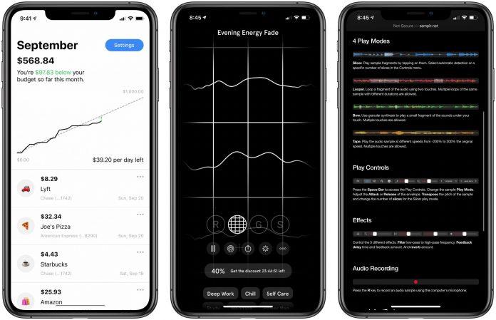 App Recap: Budget Burndown, Endel, Samplr and Major App Updates