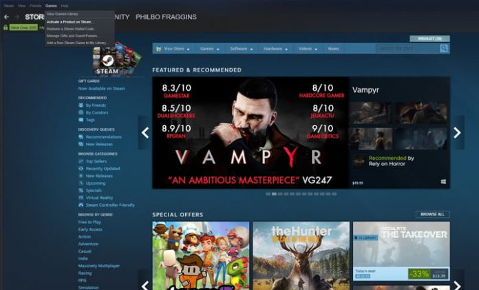 How to add external games to your Steam library