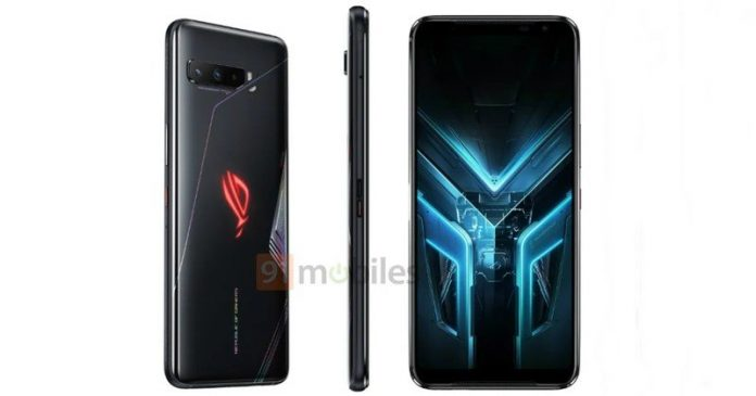 Latest ASUS ROG Phone 3 leak shows off the gaming phone from all angles