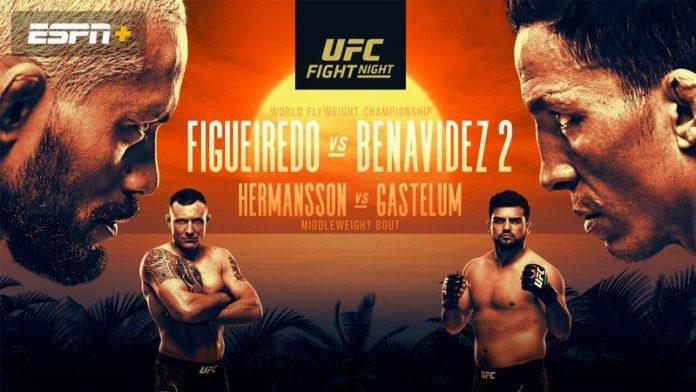 UFC Fight Island 2: How to watch Figueiredo vs. Benavidez 2 live stream