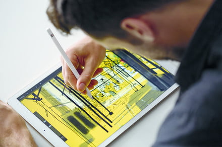 Future Apple Pencil may be equipped with sensor to sample real-world colors