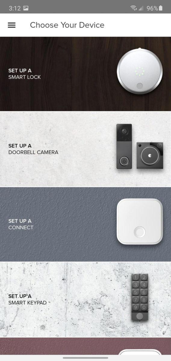 August Smart Lock setup 2