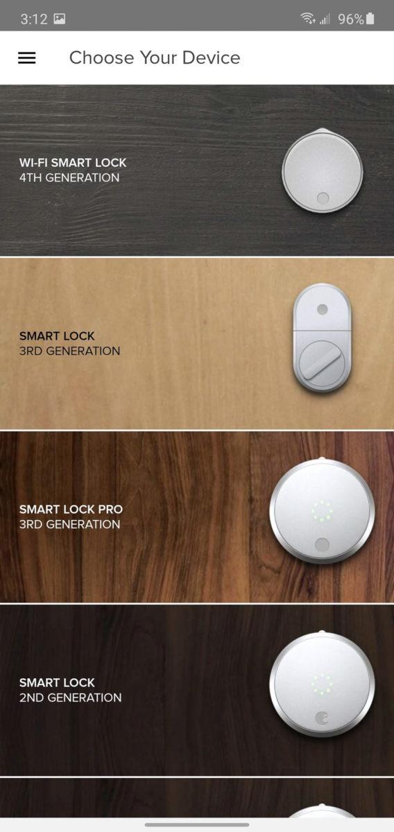 August Smart Lock setup 3