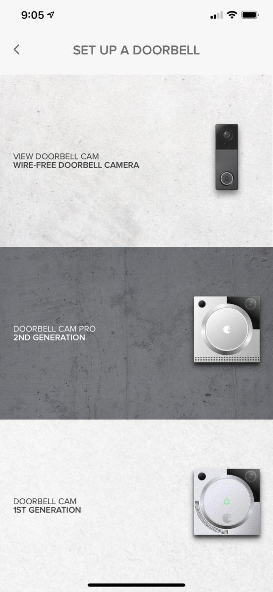 August View video doorbell setup 1