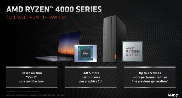AMD brings Ryzen 4000G to prebuilt desktops from HP, Lenovo, more