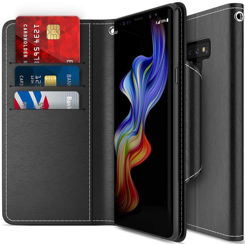 Halve your pocket carry with a wallet case for Galaxy Note 9