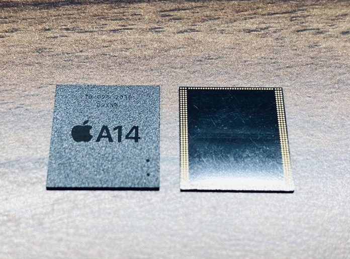 Photos of A14 RAM Component for Upcoming iPhone 12 Surface on Twitter