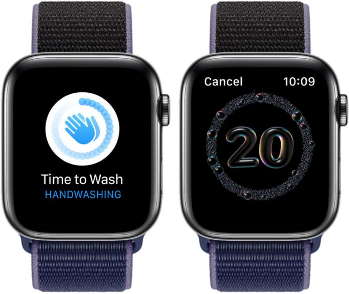 watchOS 7: How to Use the New Apple Watch Handwashing Feature