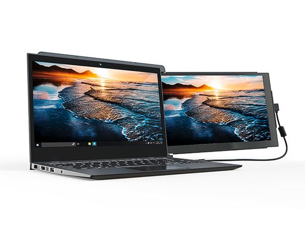 The DUEX Pro gives your laptop a second 12.5-inch display