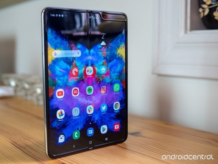 First Samsung Galaxy Z Fold 2 real-world image reveals a hole-punch display