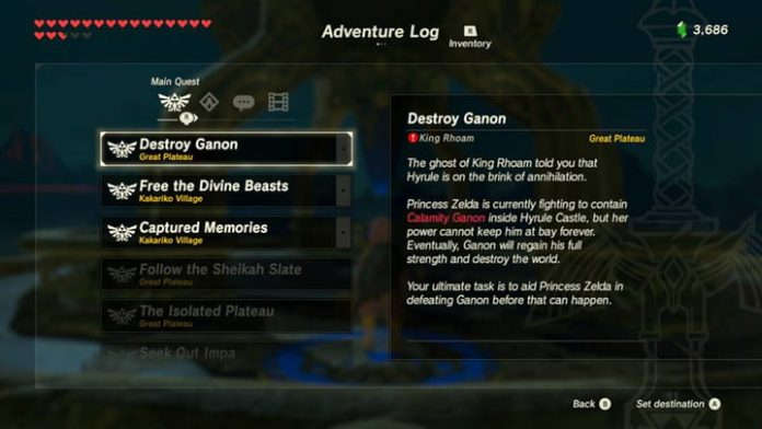 What to Do When You Feel Lost in The Legend of Zelda: Breath of the Wild