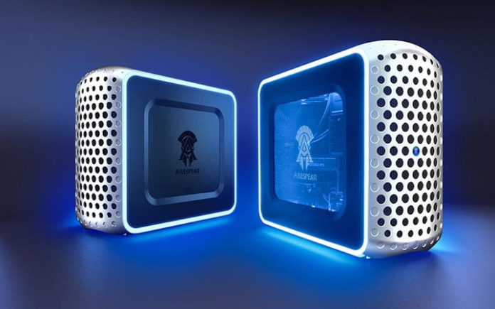 Konami's first gaming PCs bear a striking resemblance to the Mac Pro