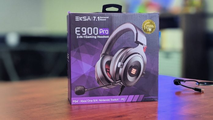EKSA E900 Pro Gaming Headset review