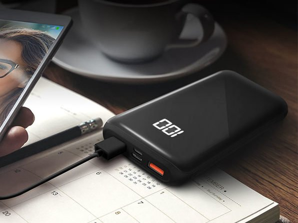 HyperGear Dual USB + USB-C Digital Power Bank: Charge three devices at once