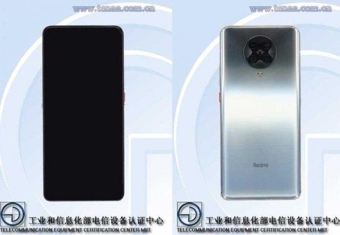 Redmi K30 Ultra passes through TENAA with pop-up camera, 4400mAh battery