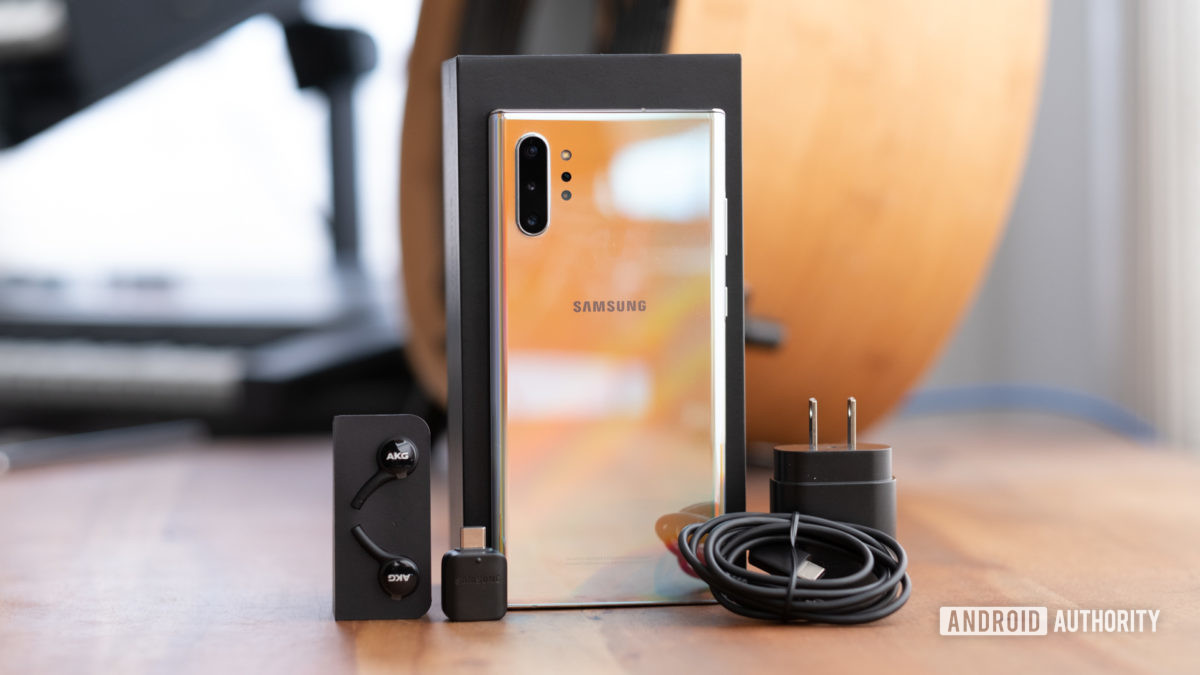 Samsung Galaxy Note 10 Plus Whats in the Box