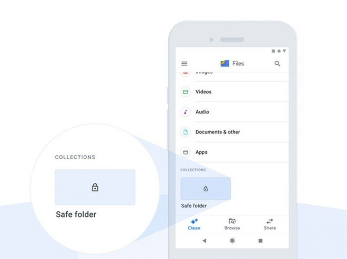 Files by Google gets a 'Safe Folder' to hide and protect your files