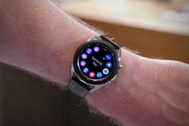 samsung galaxy watch 3 hands on features price photos release date apps