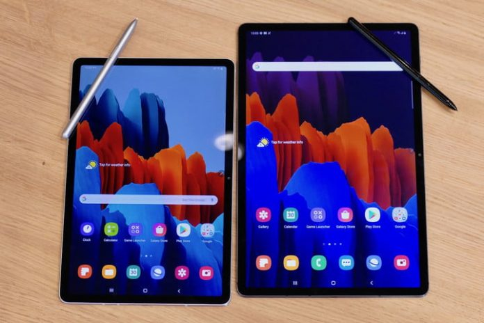 New Galaxy Tab S7 Plus is Samsung's first 5G tablet