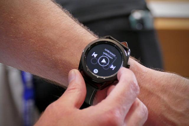 samsung galaxy watch 3 hands on features price photos release date 45mm bezel